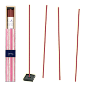 Pêche Blanche : Encens Japonais Kayuragi ( Nippon Kodo ) ~ Étui de 40 Bâtonnets + 1 Porte-Encens