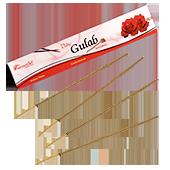 Gulab (Rose Indienne) : Encens Indien Aromatika ~ Étui de de 15 Grammes