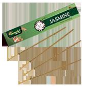 Jasmin : Encens Indien Aromatika ~ Étui de 15 Grammes