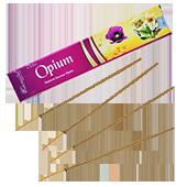 Opium : Encens Indien Aromatika ~ Étui de de 15 Grammes