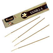 Vanille : Encens Indien Aromatika ~ Étui de de 15 Grammes