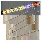 Appeler le Client : Encens Indien HEM ~ Boîte Hexagonale de 20 Bâtonnets