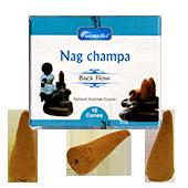 Encens Backflow au Nag Champa