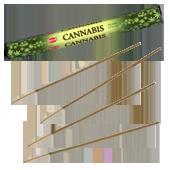 Cannabis : Encens à la Senteur de Cannabis ~ Étui de 20 Bâtonnets