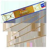 Jasmin Naturel : Encens Indien Satya ~ Boîte de 15 Grammes (13 Bâtonnets)