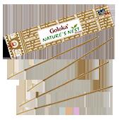 Nature's Nest  : Encens Indien Goloka ~ Boîte de 15 Grammes (13 Bâtonnets)