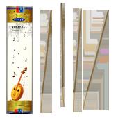 Mettalica : Encens Indien Satya ~ Boîte de 20 Grammes (18 Bâtonnets)