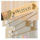 Organica Sritulsi : Encens Indien Goloka ~ Boîte de 15 Grammes (14 Bâtonnets)