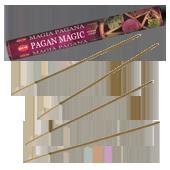 Magie Païenne : Encens Indien HEM ~ Boîte Hexagonale de 20 Bâtonnets