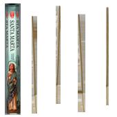 Sainte Marthe : Encens Religieux ~ Boîte Hexagonale de 20 Bâtonnets