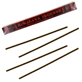 Himalaya Incense : Encens Tibétain 100% Naturel ~ Étui de ±44 Bâtonnets