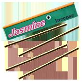 Jasmin : Encens Tibétain 100% Naturel ~ Étui de ±10 Mini Bâtonnets