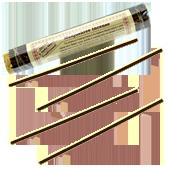 Manjushree Incense : Encens Tibétain ~ Fagot de ±52 Bâtonnets + 1 Porte-Encens