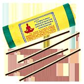 """Mokchhya : Encens Tibétain """" Mokchhya """" ("""" Nirvana """") ~ Étui de 30 Bâtonnets + 1 Porte-Encens"""