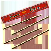 Peace Eye : Encens Tibétain 100% Naturel ~ Fagot de ±27 Bâtonnets