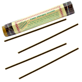 Tashi Dhargey Incense : Encens Tibétain ~ Fagot de ±52 Bâtonnets + 1 Porte-Encens