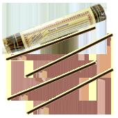 Yaan Incense : Encens Tibétain ~ Fagot de ±52 Bâtonnets + 1 Porte-Encens