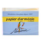 Papier d'Arménie (Carnet Bleu) : Papier d'Arménie Triple d'Auguste Ponsot ~ Carnet de 12 Feuilles