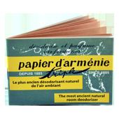 Papier d'Arménie : Papier d'Arménie Triple d'Auguste Ponsot ~ Carnet de 12 Feuilles