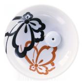 """Porte-Encens Céramique """" Papillon """" ~ Diamètre : 9,00 cm - Hauteur : 2,50 cm"""
