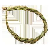 """Sweet Grass ("""" Cheveux de la Terre-Mère """") Tressé"""