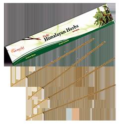 Herbes de l'Himalaya : Encens Indien Aromatika ~ Étui de 15 Grammes