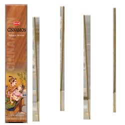 Cannelle : Encens 100% Naturel Masala HEM ~ Étui de 12 Bâtonnets