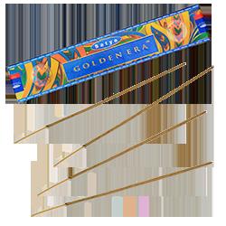 Golden Era : Encens Indien Satya ~ Boîte de 15 Grammes (13 Bâtonnets)