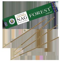 Golden Nag Forest : Encens Indien Vijayshree ~ Étui de 15 Grammes