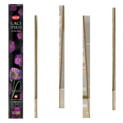 Opium Noir : Encens à l'Opium Noir HEM ~ Étui de 20 Bâtonnets