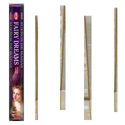 Fairy Dreams / Rêves Magiques : Encens Indien HEM ~ Boîte de 20 Bâtonnets