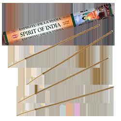 Spirit of India : Encens Indien HEM ~ Boîte Hexagonale de 20 Bâtonnets