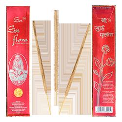 Sri Sai Flora : Encens 100% Naturel Damodhar & Co. ~ Étui de 25 Grammes