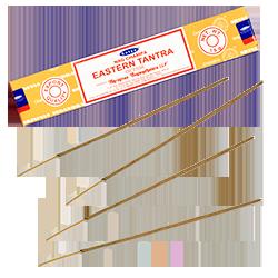 Tantra Oriental : Encens Indien Satya ~ Boîte de 15 Grammes (13 Bâtonnets)