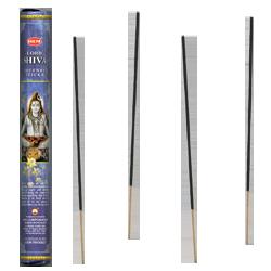 Lord Shiva : Encens Religieux ~ Boîte Hexagonale de 20 Bâtonnets