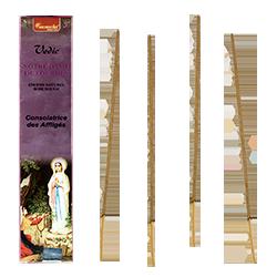 Notre Dame de Lourdes : Encens Religieux ~ Étui de 15 Grammes