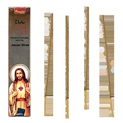 Sacré Cœur : Encens Religieux ~ Étui de 15 Grammes