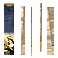 Sainte Rita : Encens Religieux ~ Étui de 15 Grammes