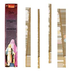 Vierge Miraculeuse : Encens Religieux ~ Étui de 15 Grammes