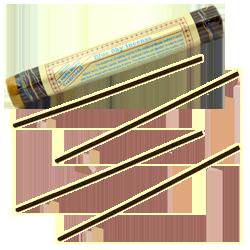 Blue Sky Incense : Encens Tibétain ~ Fagot de ±52 Bâtonnets + 1 Porte-Encens