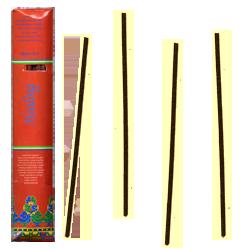 Tibetan Healing Incense : Encens Tibétain 100% Naturel ~ Étui de ±12 Bâtonnets