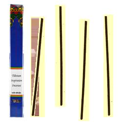 Tibetan Inspiration Incense : Encens Tibétain 100% Naturel ~ Étui de ±24 Bâtonnets