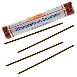 Manjushree Incense : Encens Tibétain 100% Naturel ~ Fagot de ±45 Bâtonnets