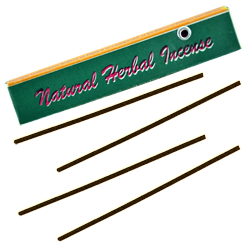 Natural Herbal Incense : Encens Tibétain 100% Naturel ~ Étui de ±10 Mini Bâtonnets