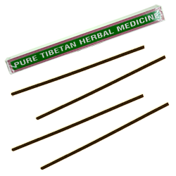 Pure Tibetan Herbal Medicine : Encens Tibétain 100% Naturel ~ Étui de ±24 Bâtonnets