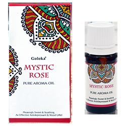 Huile Parfumée à la Rose Mystique