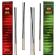 Rouge + Vert : Encens Naturels des 7 Couleurs ~ Étuis de 5 Bâtonnets