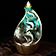 """Fontaine à encens """" Zen """" en céramique"""