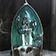 """Fontaine à encens """" Ange """" en céramique"""