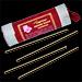 Amber Resin : Encens Tibétain à la résine d'Ambre ~ Étui de 30 Bâtonnets + 1 Porte-Encens